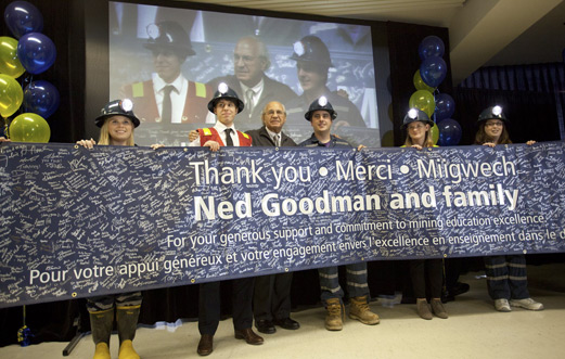 Goodman School of Mines - Thank You