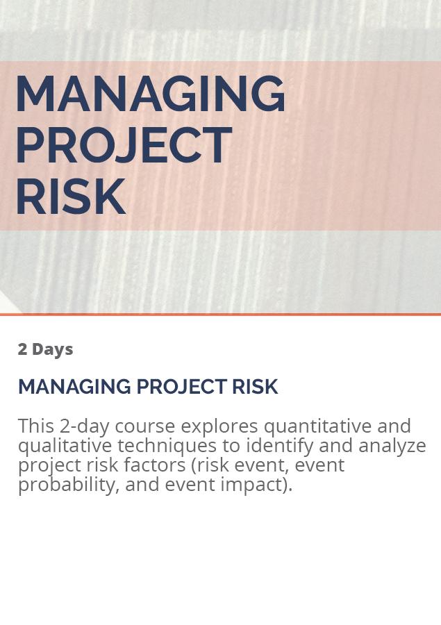 ManagingProjectRisk