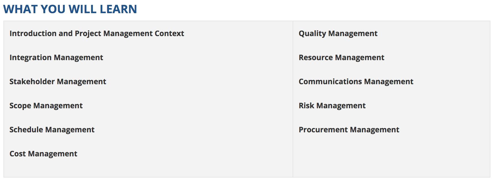 Laurentian University Goodman School Of Mines Project Management