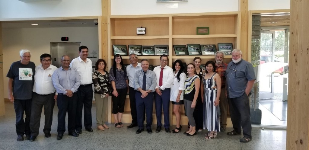 The Delegation visits Vale Living with Lakes Centre