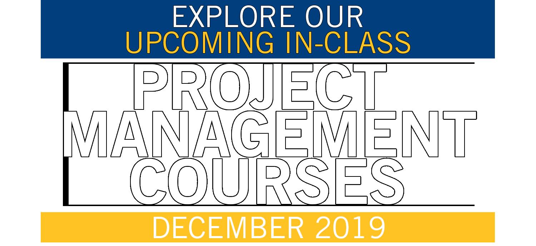Project Management – Winter Courses