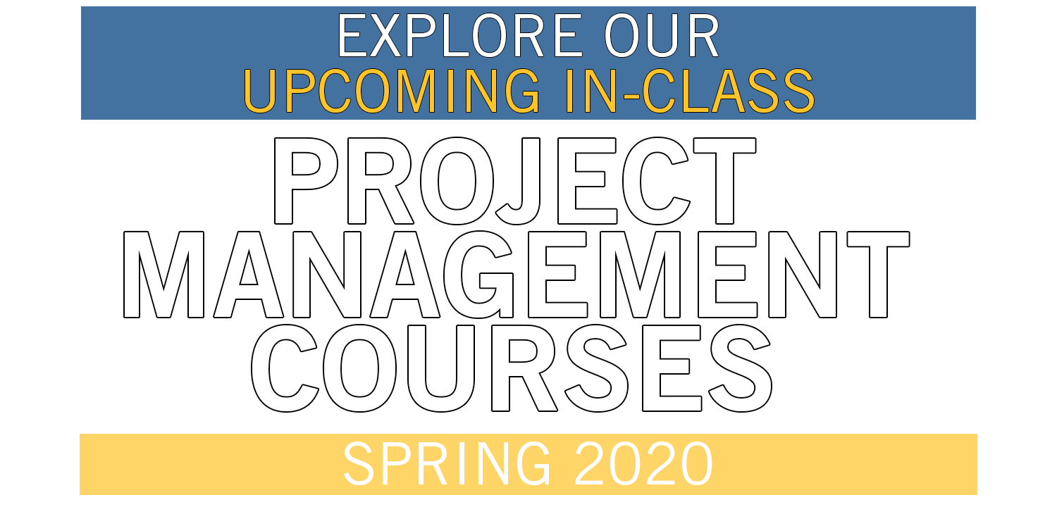 Project Management – Spring Courses 2020